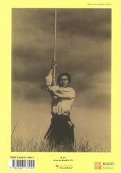 Aïkido, nature et harmonie (édition 2006) - 4ème de couverture - Format classique