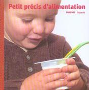Petit Precis D'Alimentation - Intérieur - Format classique