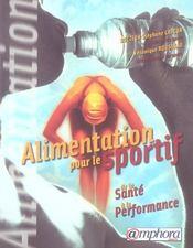 Alimentation pour le sport et le bien-être ; santé, plaisir, performance - Intérieur - Format classique