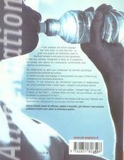 Alimentation pour le sport et le bien-être ; santé, plaisir, performance - 4ème de couverture - Format classique