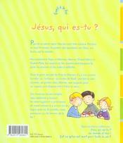 Jesus, Qui Es-Tu ? - 4ème de couverture - Format classique