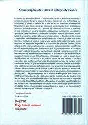 Montpellier (histoire populaire de) - 4ème de couverture - Format classique