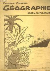 Geographie - Cours Elementaire N°288 - Couverture - Format classique