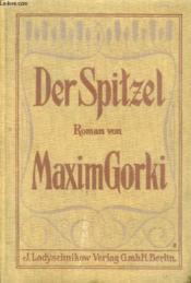 Der Spitzel - Couverture - Format classique