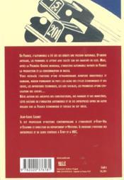 Histoire De L'Automobile Francaise - 4ème de couverture - Format classique
