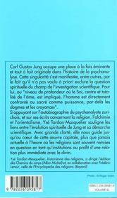 Jung et la question du sacre - 4ème de couverture - Format classique