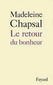 Le Retour Du Bonheur - Intérieur - Format classique