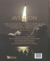 Aviation - un siecle de conquetes - 4ème de couverture - Format classique