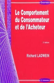 Comportement Du Consommateur Et De L'Acheteur (Le) - Intérieur - Format classique