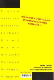 La Philosophie En Clair 10 Classiques Serieusement Depoussieres - 4ème de couverture - Format classique