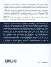 Saint Thomas D'Aquin - 4ème de couverture - Format classique