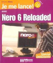 Je me lance ! avec Nero 6 reloaded - Intérieur - Format classique