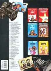 Les aventures de Spirou et Fantasio HORS-SERIE T.2 ; Radar le robot - 4ème de couverture - Format classique