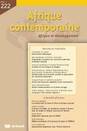 Afrique Contemporaine N.222 - Intérieur - Format classique