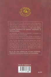 Encyclopédie des arts martiaux de l'extrème-orient (4e édition) - 4ème de couverture - Format classique