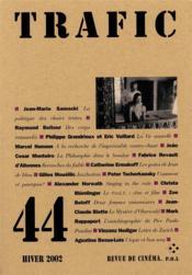 Revue Trafic N.44 - Couverture - Format classique