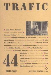 Revue Trafic N.44 - Intérieur - Format classique