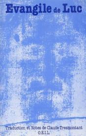 Évangile de Luc - Couverture - Format classique