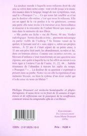 La Maladie Cherche A Me Guerir T.2 - 4ème de couverture - Format classique