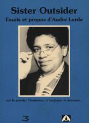 Sister outsider, essais et propos - Couverture - Format classique