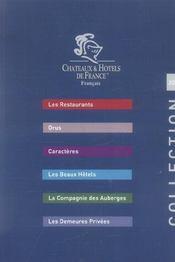 Chateaux Et Hotels De France (edition 2006) - Intérieur - Format classique