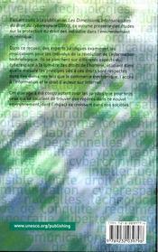 Les droits de l'homme dans le cyberespace - 4ème de couverture - Format classique