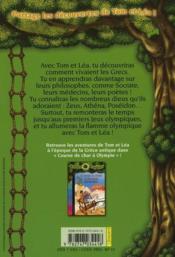 Les carnets de la cabane magique T.9 ; à la découverte de la Grèce antique - 4ème de couverture - Format classique
