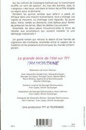 Tramontane - 4ème de couverture - Format classique