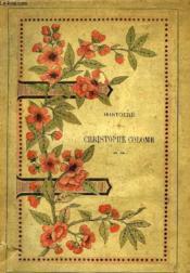 Histoire De Christophe Colomb - Couverture - Format classique
