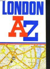 Az London Street Atlas - Couverture - Format classique