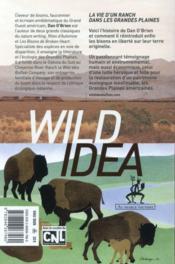 Wild idea - 4ème de couverture - Format classique