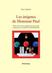 Les énigmes de monsieur Paul - Couverture - Format classique