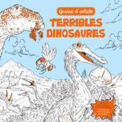 Terribles dinosaures (coll. graine d'artiste) - Couverture - Format classique