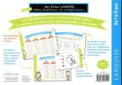 Mes fiches Larousse, spéciales additions, multiplications, ... - 4ème de couverture - Format classique