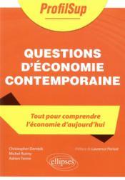 Questions d'économie contemporaine - Couverture - Format classique