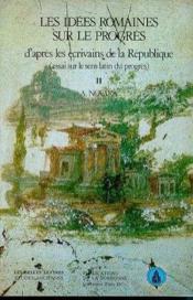 Idees Romaines/Progres T2 - Couverture - Format classique