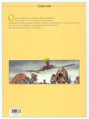 Septentryon t.1 ; la calotte jaune - 4ème de couverture - Format classique