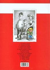Cédric T.1 ; premières classes - 4ème de couverture - Format classique