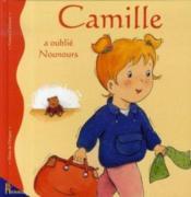 Camille a oublie nounours - Couverture - Format classique