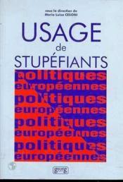Usages De Stupefiants - Couverture - Format classique