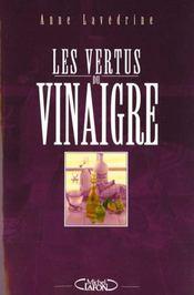 Les vertus du vinaigre - Intérieur - Format classique