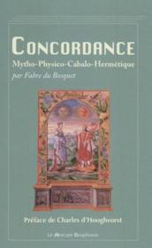 Concordance mytho-physico-cabalo-hermétique - Couverture - Format classique