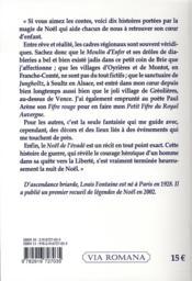 Contes de noël de tous les temps - 4ème de couverture - Format classique