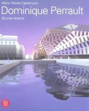 Dominique PERRAULT ; œuvres récents - Intérieur - Format classique
