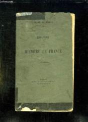 Esquisse D Une Histoire De France. - Couverture - Format classique