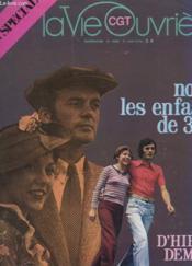 La Vie Ouvriere N°1658 - Nous, Les Enfants De 36 ... - Couverture - Format classique