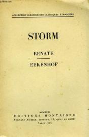 Renate Eekenhof - Couverture - Format classique