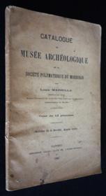 Catalogue du musée archéologique de la Société Polymathique du Morbihan - Couverture - Format classique