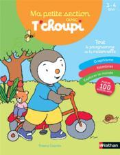 Ma PS avec T'choupi ; 3/4 ans (édition 2020) - Couverture - Format classique