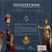 Assassin's Creed ; discovery book ; la Grèce antique ; l'histoire est notre terrain de jeu - 4ème de couverture - Format classique